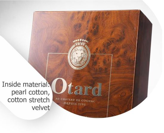 Unique Luxury MDF Wooden Gloss Lacquer Wine Display Gift Box pictures & photos