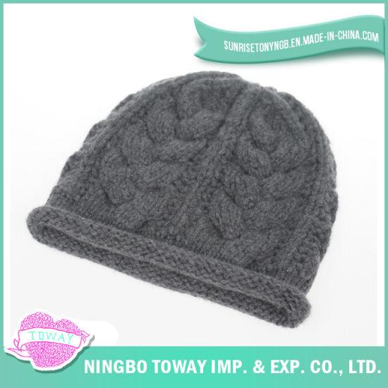 1eceabf7ec755 China Cheap Black Gray Beanie Fashion Winter Hats for Men - China ...
