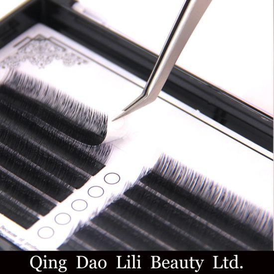 China Flat Ellipse Eyelash Extension Manufacturer Bulk