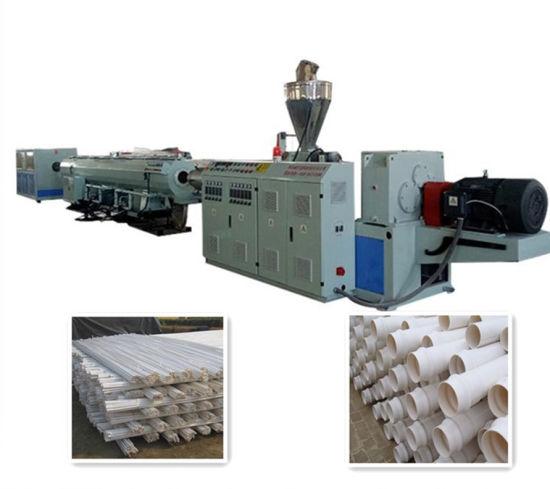 UPVC PVC Water Pipe Extrusion Line Plastic Tube Making Machine