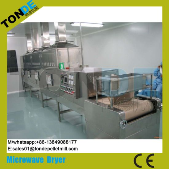Stainless Steel Belt Microwave Tomato Drying Sterilizing Machine pictures & photos