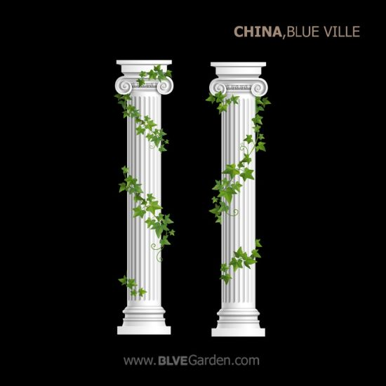 Cheap for Garden Carved Marble Column for Wedding Decoration Mcy-08