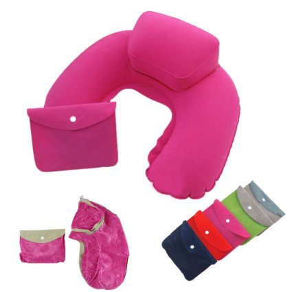 with Pouch Special Design Inflatable Travel Neck Pillows for Journey pictures & photos