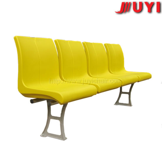 Blm-1427 Cushion Steel Frame Yellow for Concert Outdoor Fodable Basketball Plastic Chairs Price Folding Economic Stadium Chair