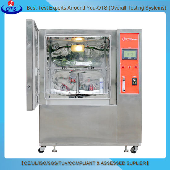 Simulation Waterproof IP X1~X8 Rain Spray Test Chamber for Automobile Parts