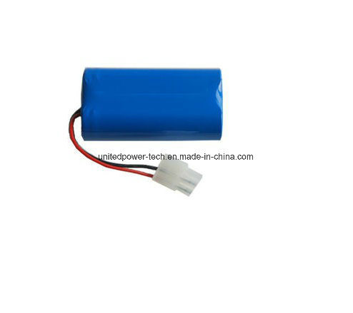 7.4V 18650 Li Ion Rechargeable LED Light Battery pictures & photos