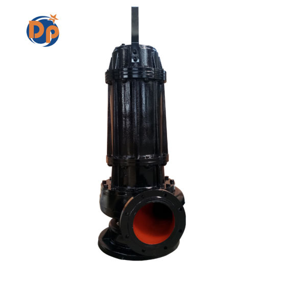 Wq Non-Clogging Centrifugal Sewage Pump Water Sewage Submersible Pump Price pictures & photos