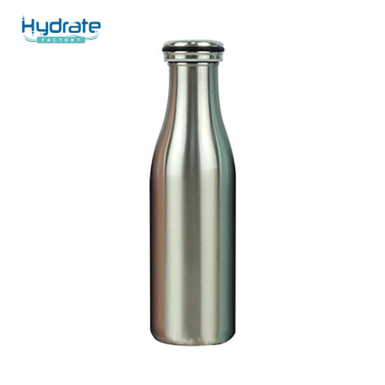 Milk Shape Food Grade 304 Stainless Steel Insulation Vacuum Flask Water Bottle