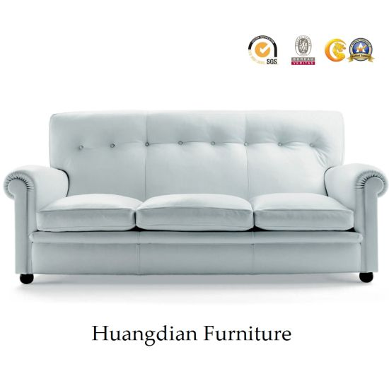 Wholesale Classic Leather Chesterfield Sofa China Factory (HD964)