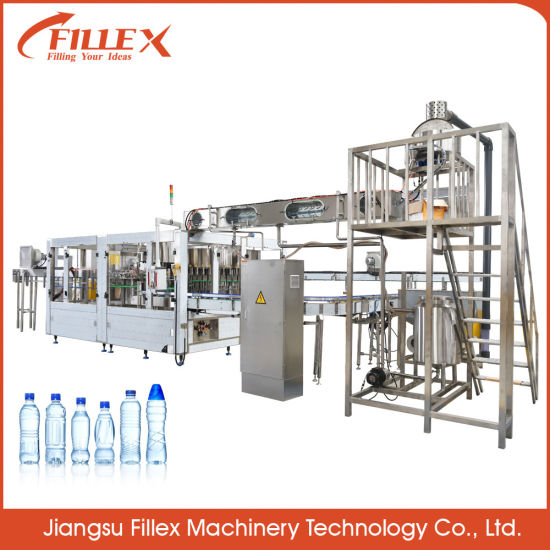 Complete Solution Bottle Drinking Pure Water Filling Machine