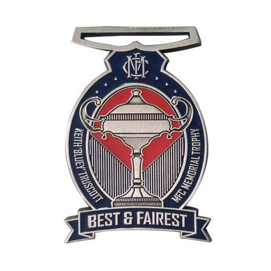 Various Types Metal Embossed 3D Sports Meeting School Medal