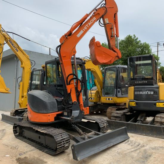 Used in Lowest Price with High Quality Hitachi Zx60 Used Excavator