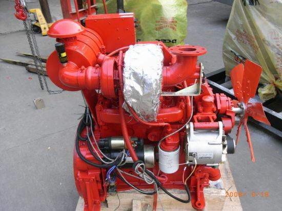 4 Stroke Cummins Diesel Engine with Water Cooling