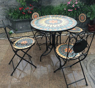 Round Table Courtyard Balcony Outdoor