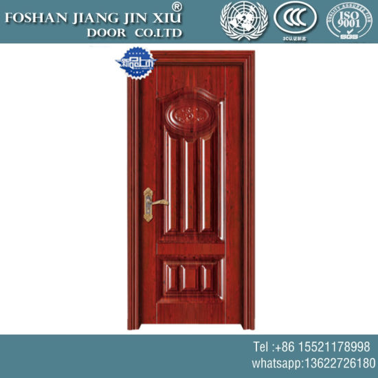 PVC 304 Steel Security Iron Swing Door with Cheap Price pictures & photos