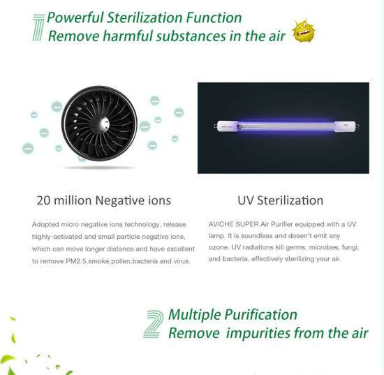 China Portable Air Purifier with HEPA Filter for Europe - China Car Air  Purifier and Portable Air Purifier price
