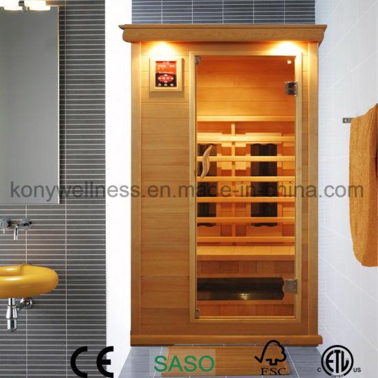 1 People Dry Sauna Room for Indoor Use