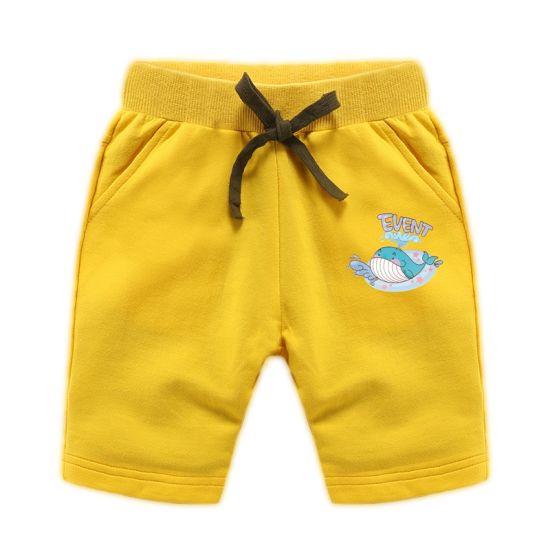 Fashion Style 100% Cotton Summer Child Kids Baby Boy Pants