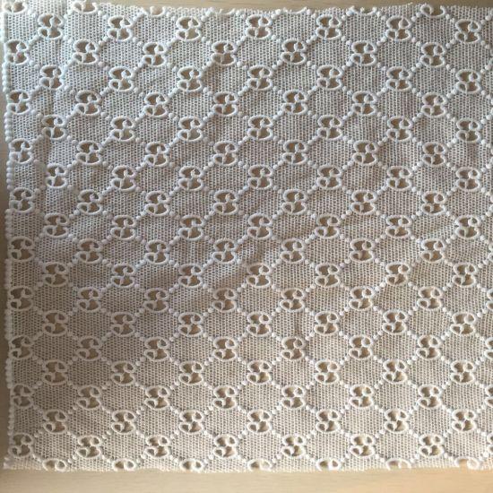 Fashion Lace Fabric Cotton Polyester Nylon Lace Fabric