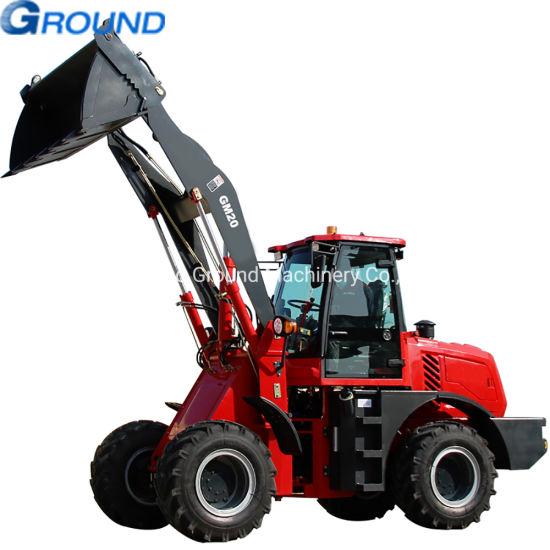 2ton Construction Equipment mini wheel loader ,mining loader, bulldozer with high quality