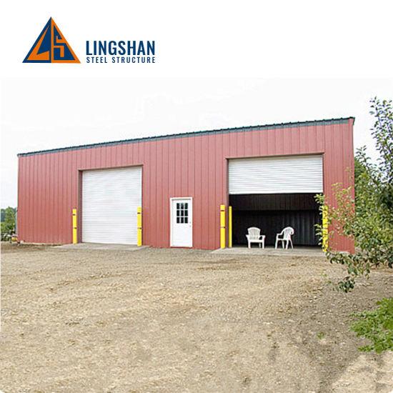 Light Steel Prefab Mobile Storage Car Garage