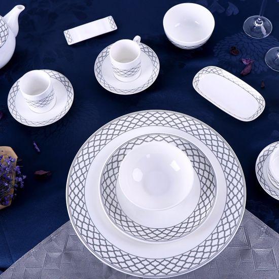 Wholesale Ceramic Plate Cheap Bulk Designed Porcelain Dinner Plates Set & China Wholesale Ceramic Plate Cheap Bulk Designed Porcelain Dinner ...