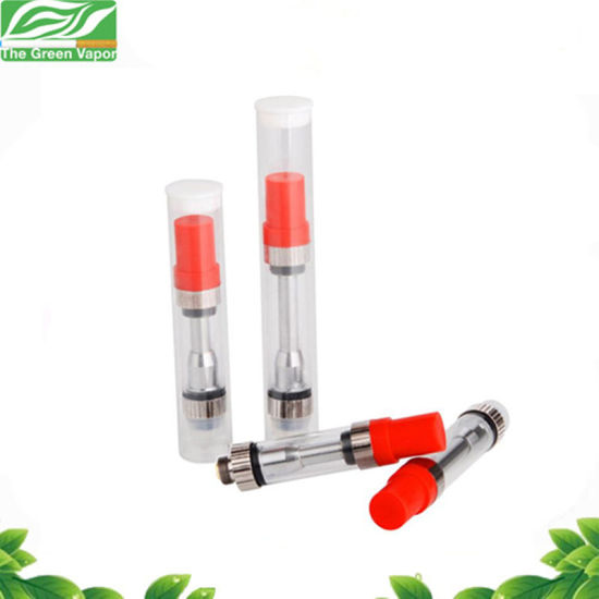 Wholesale Thc Oil Vaporizer Atomizer V1 with Top Airflow Dual Coil 0.5ml 1.0ml pictures & photos