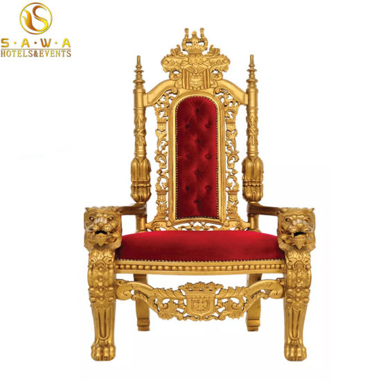 Antique King Throne Chairs Lion Head Carved Chairs - China Antique King Throne Chairs Lion Head Carved Chairs - China
