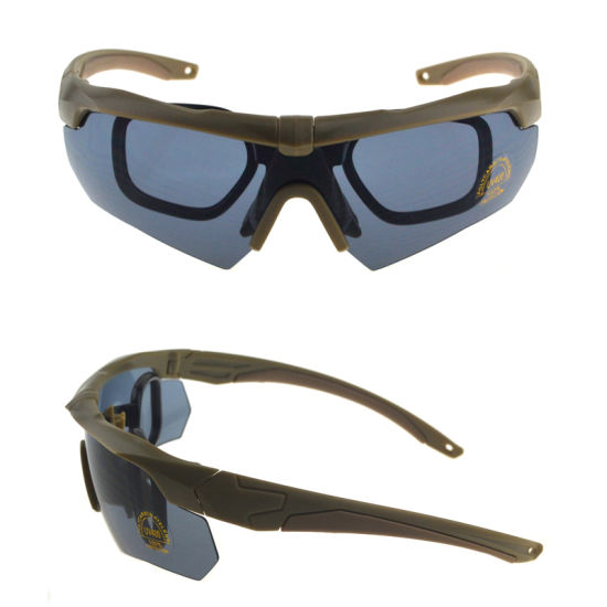 Vintage Customized Branded Designer UV400 Military Shooting Goggles Desert Sun Glasses