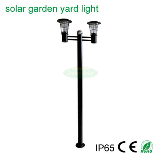 High Lumen LED Lamp Lighting CE Bright Solar Outdoor Yard Garden Light for Project Landscape Lighting
