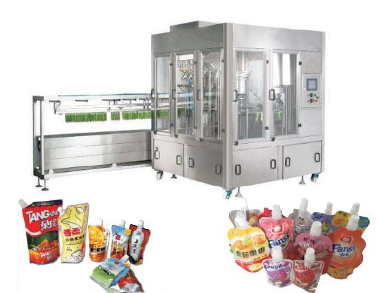Automatic Stand Pouch Filling Capping Machine/Liquid Filling Machine pictures & photos