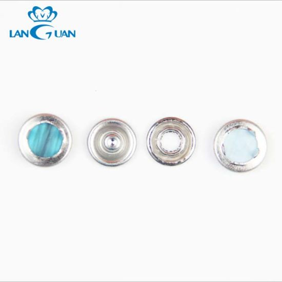 Prong Metal Ring Snap Buttons for Baby Cloth