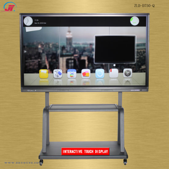 75inch Intelligent Interactive Electronic Whiteboard for Conference or Education (ZLD-D750Q-XZMS638)