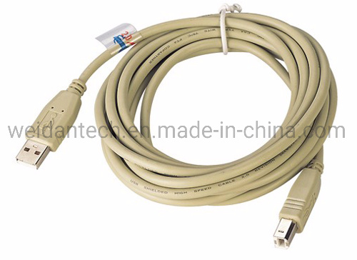 USB2.0 a Male to B Male Printer Cable pictures & photos