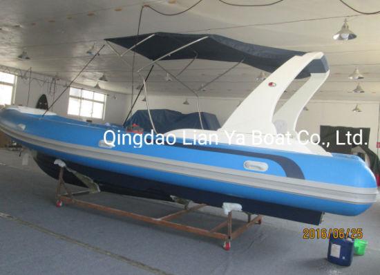 Liya 7 5m Large Navy Rigid Inflatable Boats China