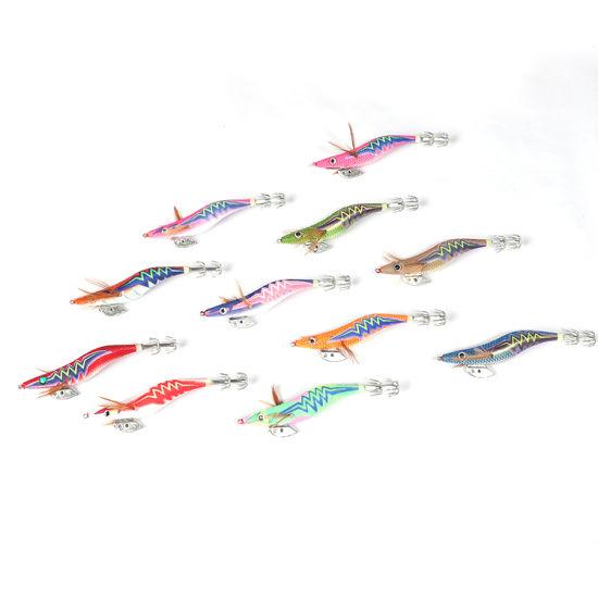 Ice Fishing Jig fishing lures luminous shrimp lure Glowing Jigs Details about  /UFISH