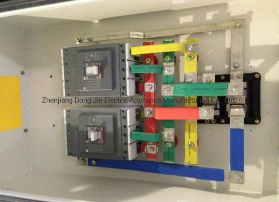 China Busway Plug In Box Busbar Tap Off Unit For Bus Duct