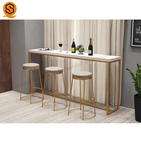 [Hot Item] China Price Furniture Custom Solid Surface Home Mini Bar Counter  Home Bar Furniture