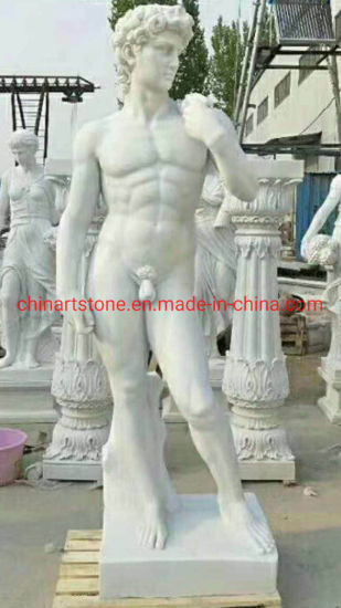 White Marble Sculpture Stone Carving Statue for Western People pictures & photos