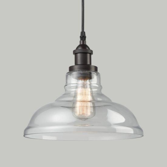 Jlc-8014 Industrial Edison Clear Glass Shade Pendant Lamp