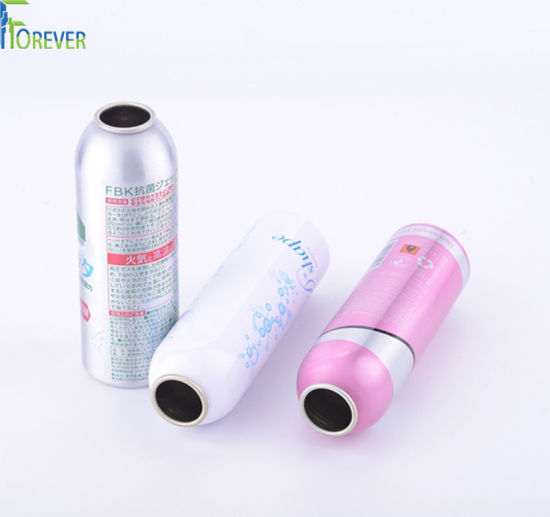 20-1000ml China Supplier Cosmetic Spray Aluminum Aerosol Can Bottle with Accessories pictures & photos