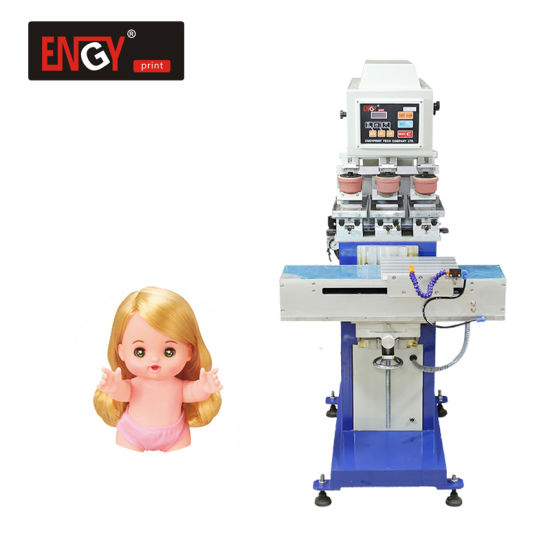Independent Multicolor Semi-Automatic Pad Printer/Printing Machine for Dolls