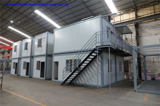 Low Cost Steel Structure Easy Assembled Modular Container Building pictures & photos