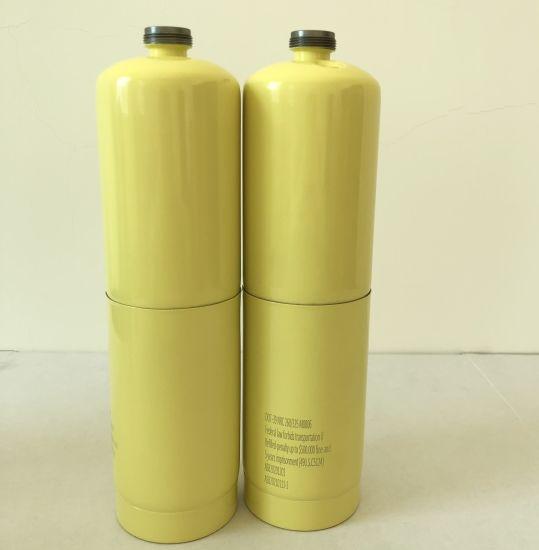 Non-Refillable Steel Gas Cylinder for Mapp Gas Propane Butane DOT-39