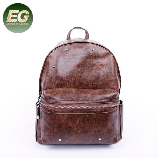China Leisure Lady School Bag Fashion Backpack with Studded Sh831 ... f5e2c4abd7b50
