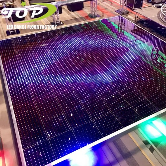 with Edge LED Stage Display Screen Video Dance Floor for Sale