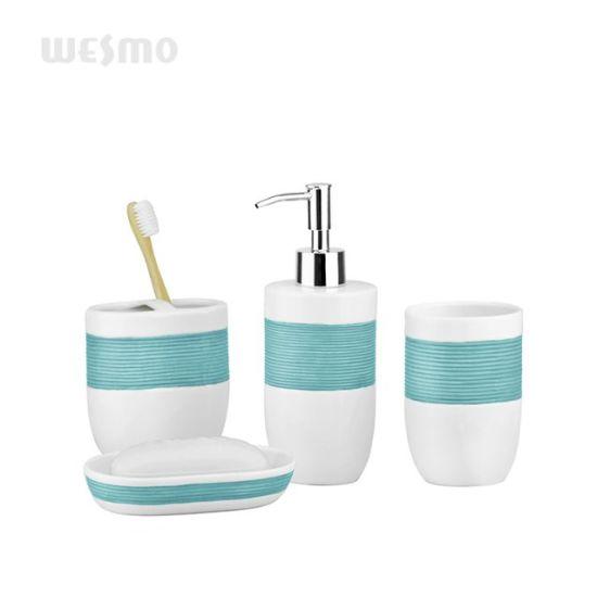 China Top Grade Porcelain Bathroom Set