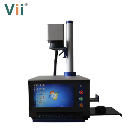 Mini Sized Laser Engraving Machine 20W Fiber Laser Coding Machine for Skin-Care Products