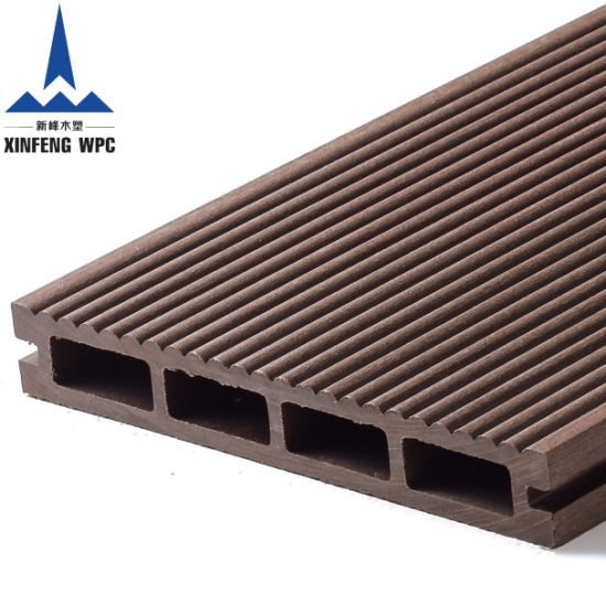 Maintenance Free Hollow WPC Decking for Flooring