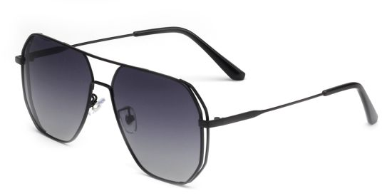 High Quality Classic Gold Metal Sunglasses, New Designer Eyeglasses UV Protection